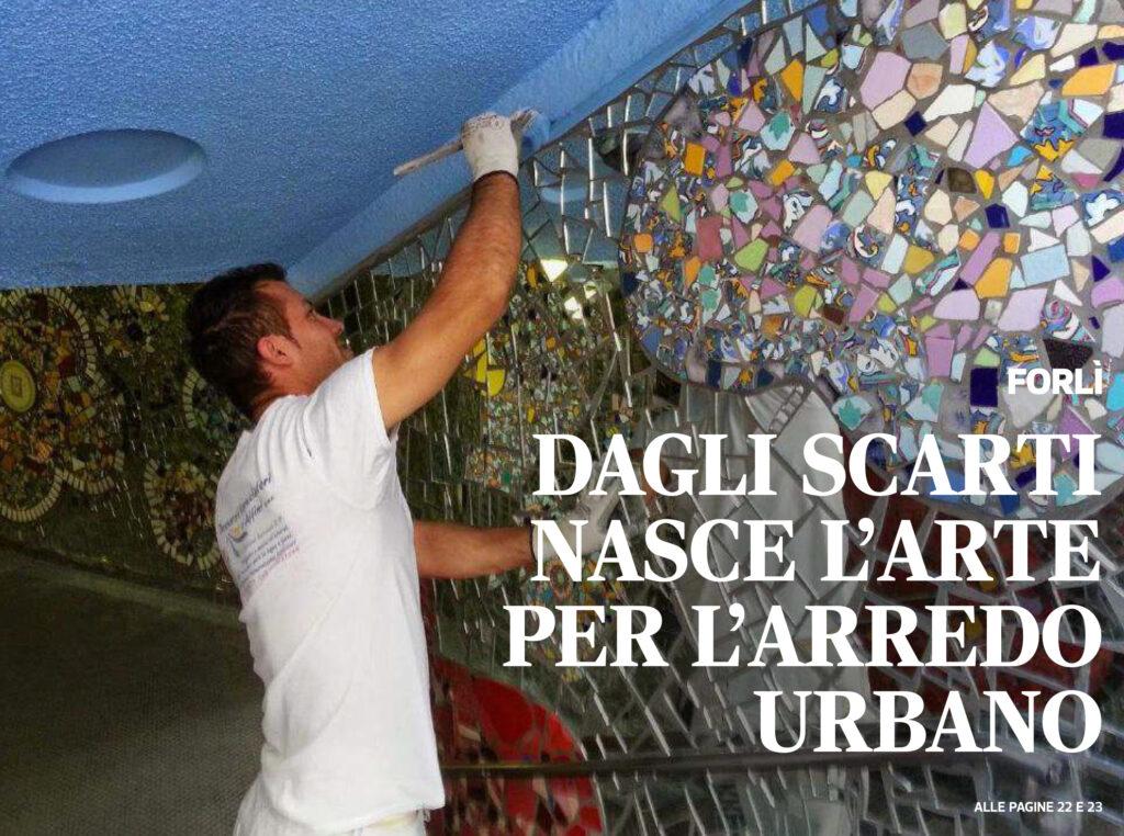 """Questo è l'articolo uscito sull'inserto del Corriere Romagna: """"VERDE"""",  scritto il 6 ottobre 2020, da Giampiero Valenza"""